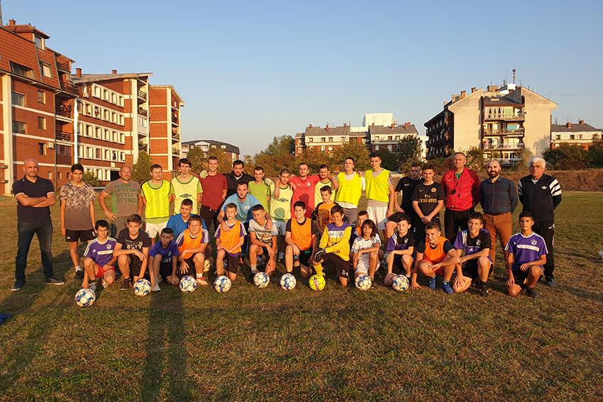 We sponsored the Morava 1918 football club